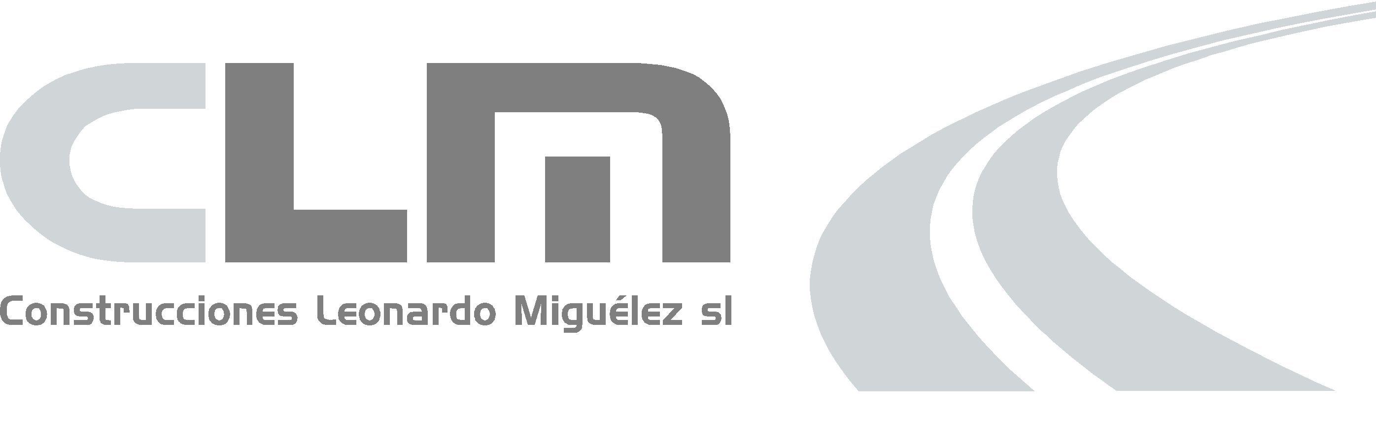 Logo Construcciones Leonardo Miguélez